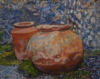 Pots,                  oil/canvas