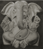 Ganesh,          pencil/paper