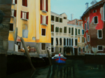 "Venice,                           oil/canvas, 30""x40"""