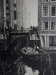 "Deutch canal,           graphite/paper, 15""x 20"""